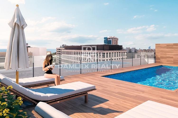Wohnung in einem Neubau mit Pool