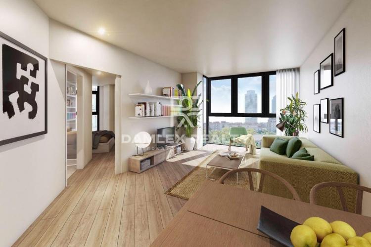 Wohnung, 1 schlafzimmer, zu verkaufen in Vila Olímpica, Barcelona in Meeresnähe
